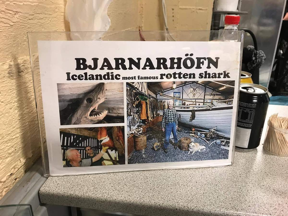 fremented shark meat iceland
