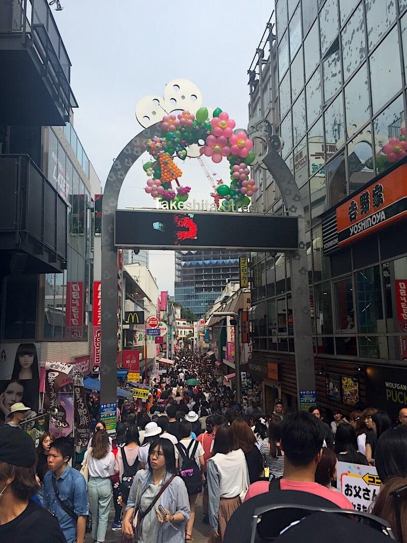 places to visit in Tokyo Takeshita Street