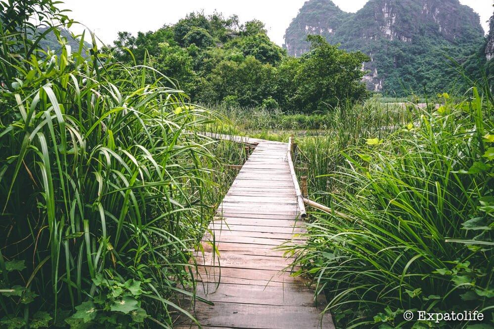 traveling Ninh Binh Vietnam