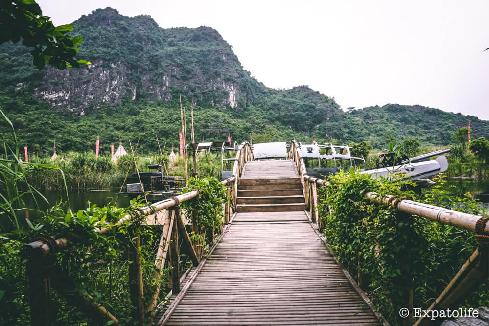 Skull island Ninh Binh Vietnam travel