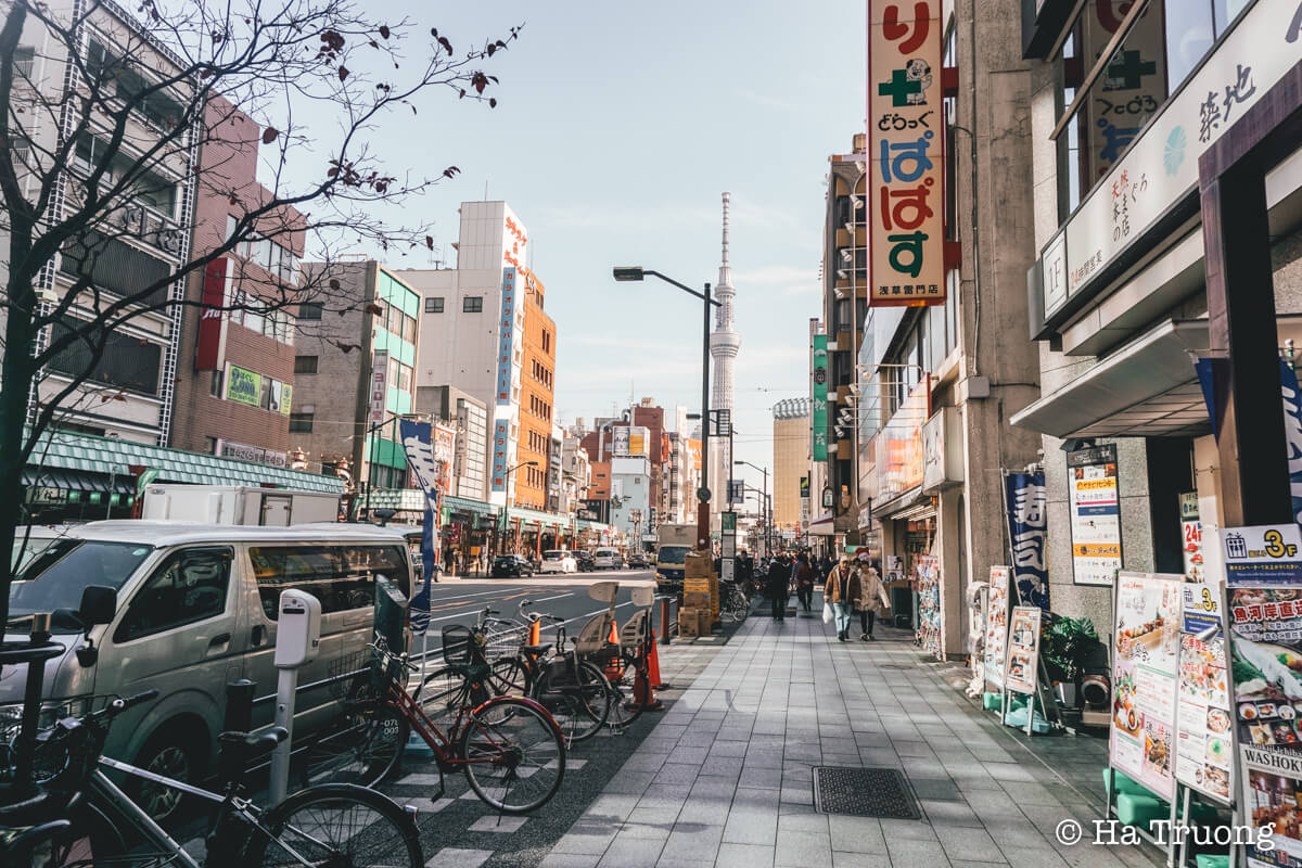 Where to stay in Asakusa Tokyo Japan