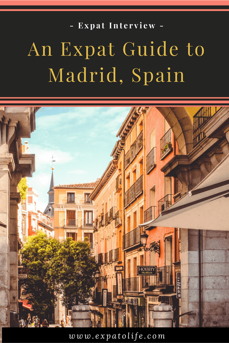 Discover what it's like to live in Madrid, Spain as an expat. Cost of living in Madrid, things to do in Madrid, how to prepare to move to Madrid, good and bad things about Madrid, expat tips and more! You'll definitely want to save this to your Board to read later! #expat #expatlife #madrid #spain #livingabroad #travel #expatriate #expatblog #expatliving #ExpatTips