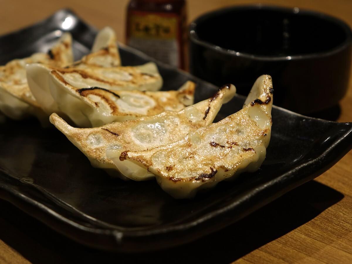 Japanese food gyoza