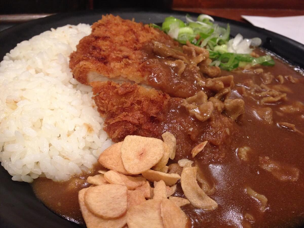 Japanese curry food to try in Japan