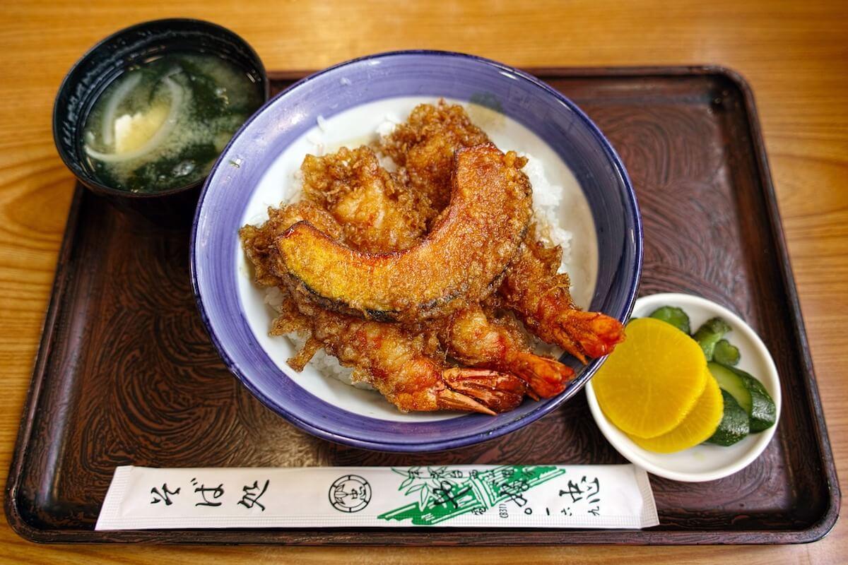Japanese food tempura